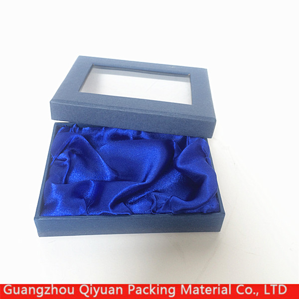 Manufacturers china Custom luxury logo printed cardboard window jewelry gift boxes