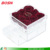 Elegant transparent acrylic flower case lucite Perspex rose packaging gift box