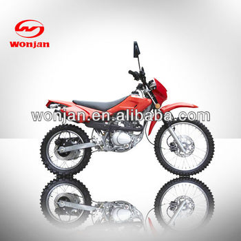 125cc motorcycle off road kids gas dirt bikes for sale cheap(WJ125GY-D)
