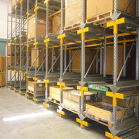 Safety and Efficient High Load Capacity Shuttle Vehicle Racking