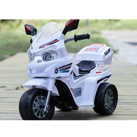 China factory wholesale small plastic motorcycle kids ride on car children electric motorcycle for sell