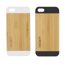 Wholesale custom blank bamboo case with design for iphone 5 6 6s