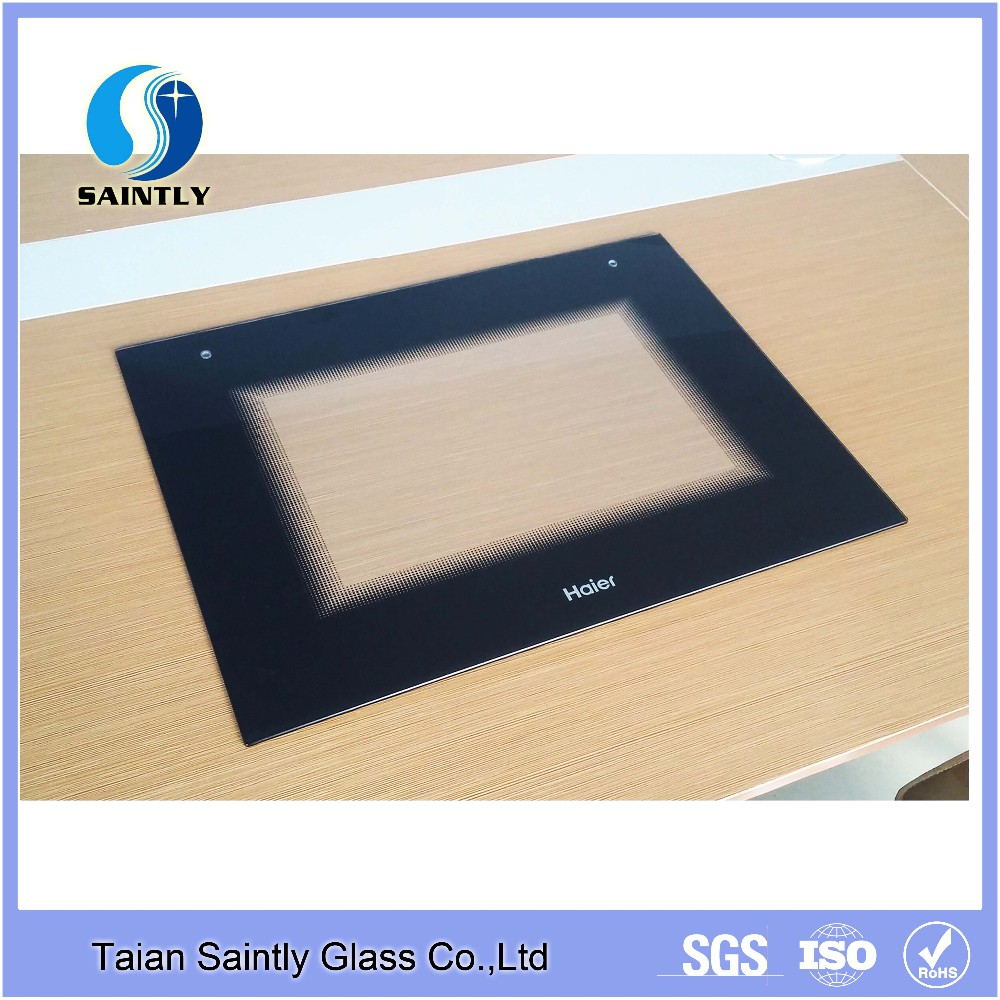 high quality 3.2mm 4mm 6mm 8mm kitchen microwave door use tempered glass for microwave door