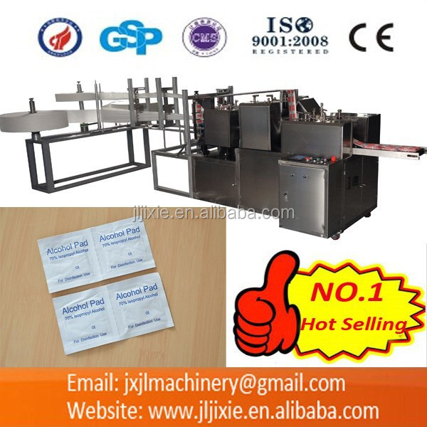 JL-S250 Automatic Alcohol Pad Making Machine
