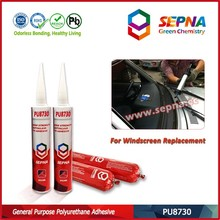 Single component polyurethana adhesive PU8730 autoglass replacement silicone sealant price