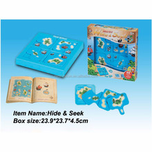 Chinese factory hot sale blue Hide & Seek toys for children play at school