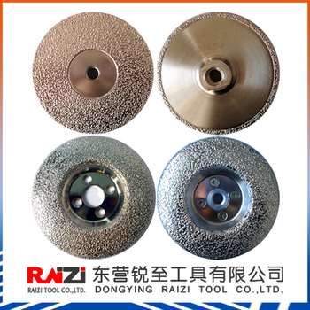 Vacuum Brazed Diamond Wheel(Grinding Disc)/stone tool/diamond cutting disc,abrasive cutting disc/wheel
