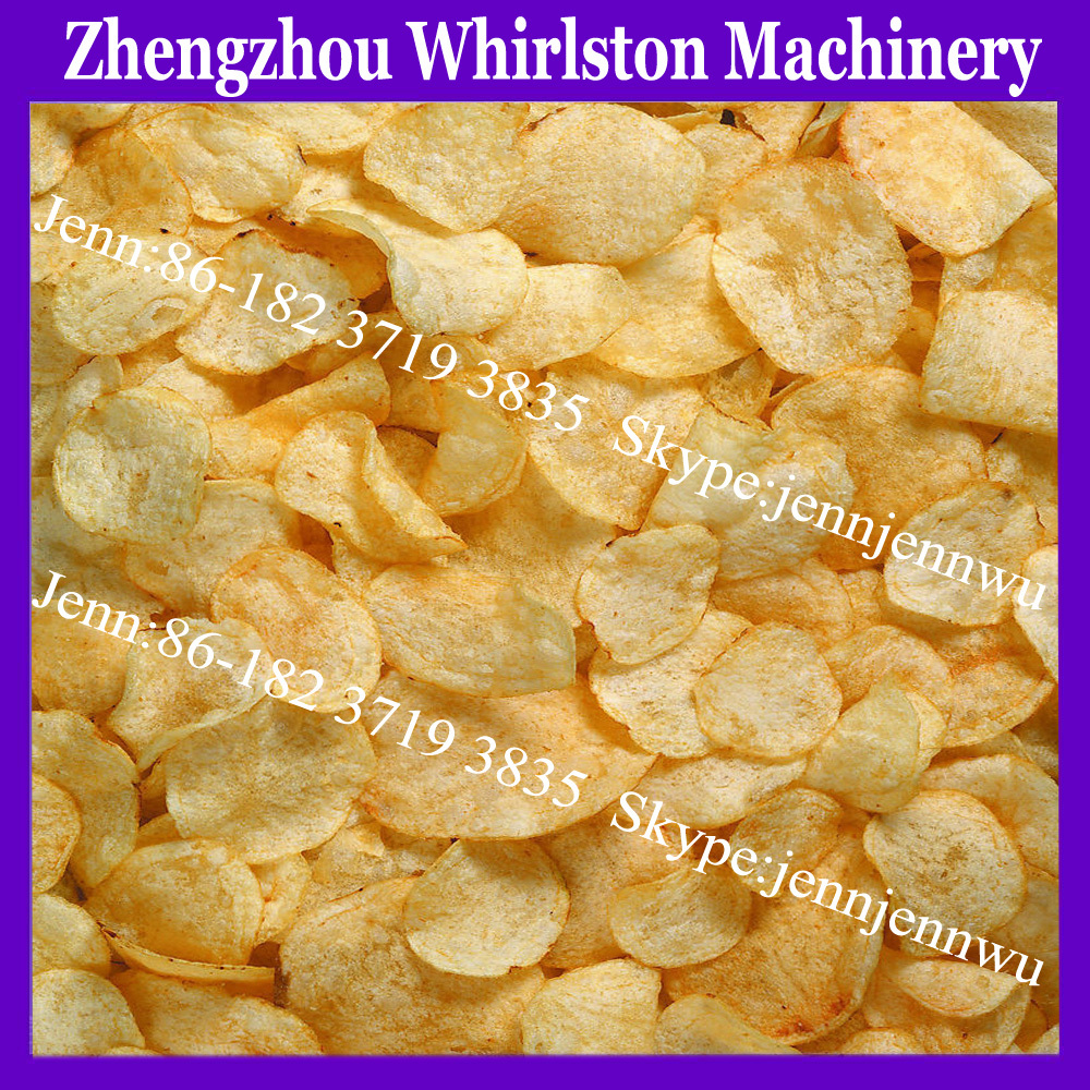 automatic frying potato chips making machine/potato chips pellet line for sale