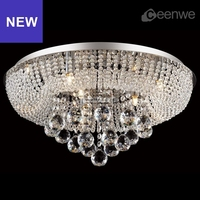 2016 new modern led lights chic contemporary crystal ceiling lamp