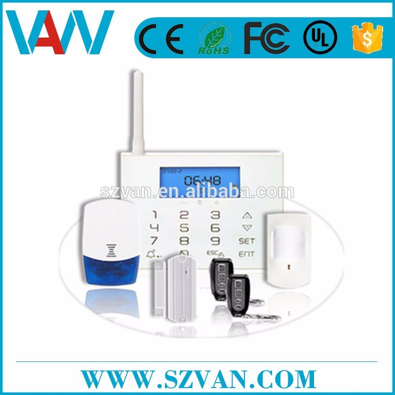 Top 3 factory!Brand new machine grade infrared alarm system for Industry Usage