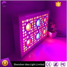 Hong kong dropship eshine system 600watts led grow light full spectrum 3w bridgelux epistar crees chips grow led light