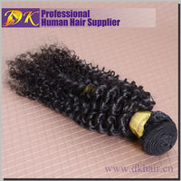 DK Hair Products High Quality 18 inches 10pcs/lot Kinky Curly Brazilian Virgin Human Hair FREE Shipping