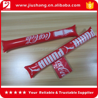 Wholesale custom inflatable noise cheering decorative floral sticks