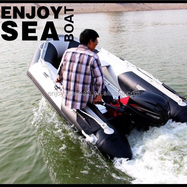 2016 China pvc Aluminum floor inflatable sailing catamaran!