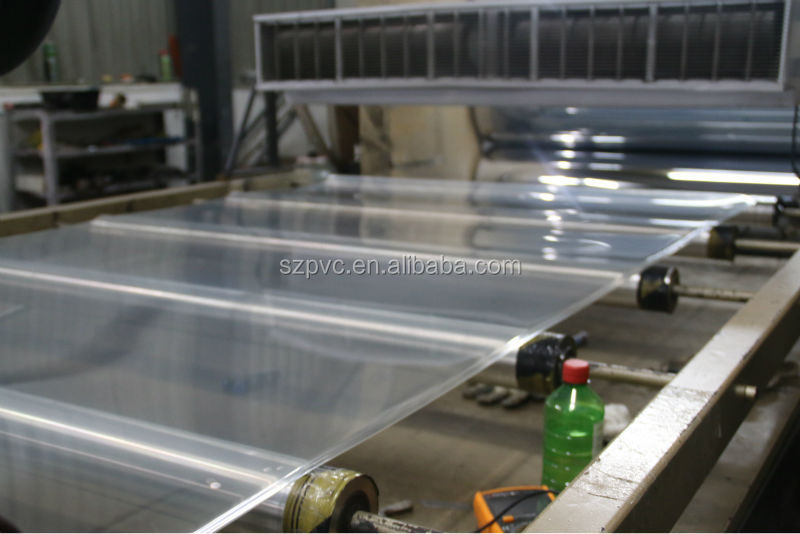 anti static with PE Protective Film PVC sheeting