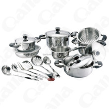 19pcs Stainless steel cooking tool kits