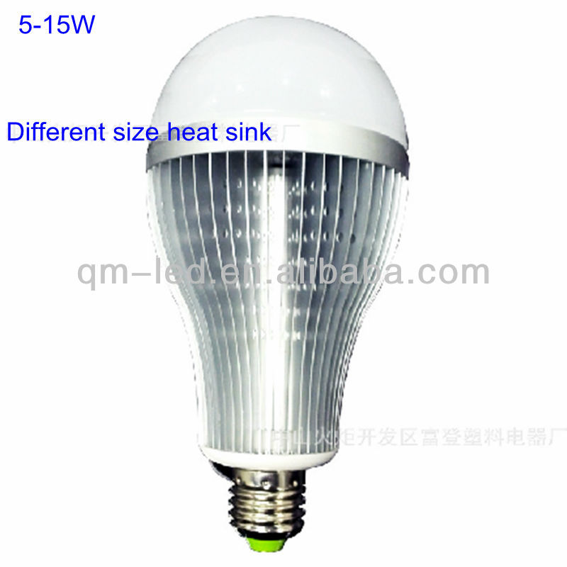2013 new design good quality 5w fin type led bulbs 110v