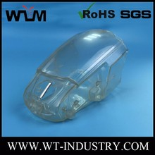Hybrid Hard Transparent Plastic Accessories Parts Injection Molding, Cheap Mould Making