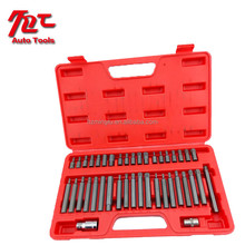 Professional Hex Bit Kit Power Bit Set Hand Tool Set with Red Box