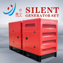 Hot sale! Silent type diesel engine electric 100kw 160kw180KW generator set cheap price