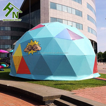 Customized Size Manufacturer Direct Supply Waterproof Geodesic Bubble Canvas Tent for Event