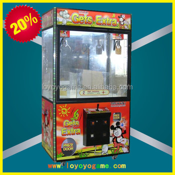 Personality design toy claw crane vending machines for sale