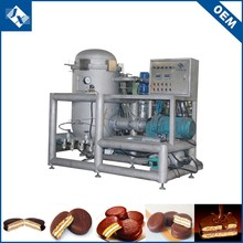 Approved munufacturer chocolate filling pie bakery equipment