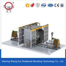 rotational molding machine for tanks from 200 to 1000 L, 1 - 3 layer