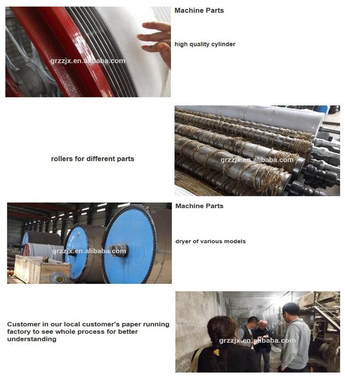 toilet tissue paper making machine main parts