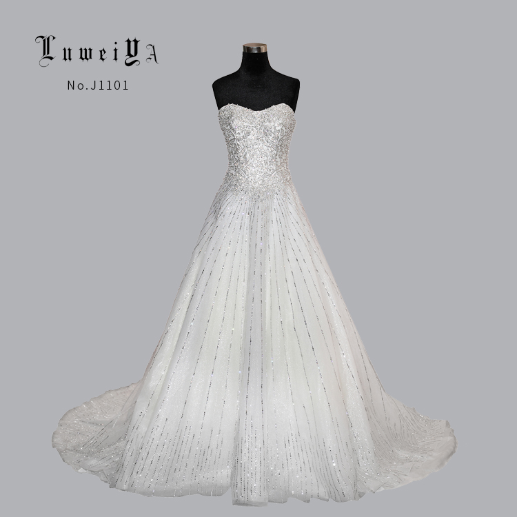 China Wedding Gowns Philippines Diamond Beading Applique Pretty ...