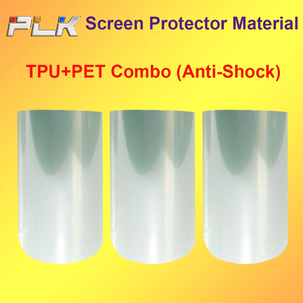 Korea PET Screen Protector Film Roll For Mobile Phone,Screen Protector Film Sheet For LCD Monitor/
