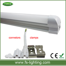 Tubo led commercial electric led commercial electric led Integrated T8 frosted 150cm 22W LED T8 with male and female clamps
