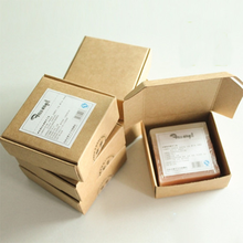 Free sample paper sleeve soap paper box