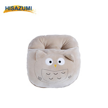 Animal Shape Cartoon Embroidery Polyester Foot Warm Cover Customized Bolster Cushion