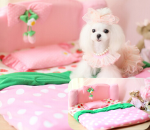Lovable Strawberry Pet Bed Dog Bed Pet Mat Pet Products For Dogs And Cats Wholesale