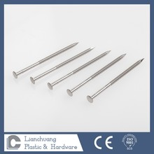 flat head timber deck nail stainless steel,concrete nail