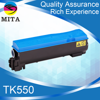 TK550CMYK Compatible Empty Toner Cartridge for Kyocera FSC5200DN 5250DN