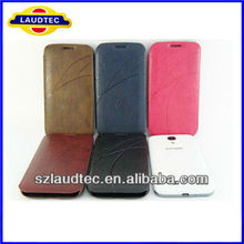 Newest Luxury PU Leather Setting Flip Cover Pouch Case For Samsung Galaxy S4 SIV i9500