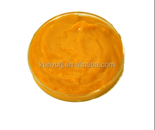 Yellow peach puree concentrate
