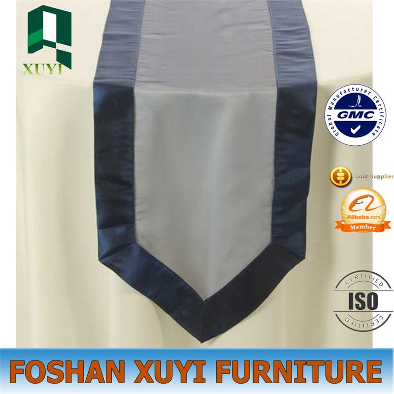 New fashional modern use organza table runner for party decorations
