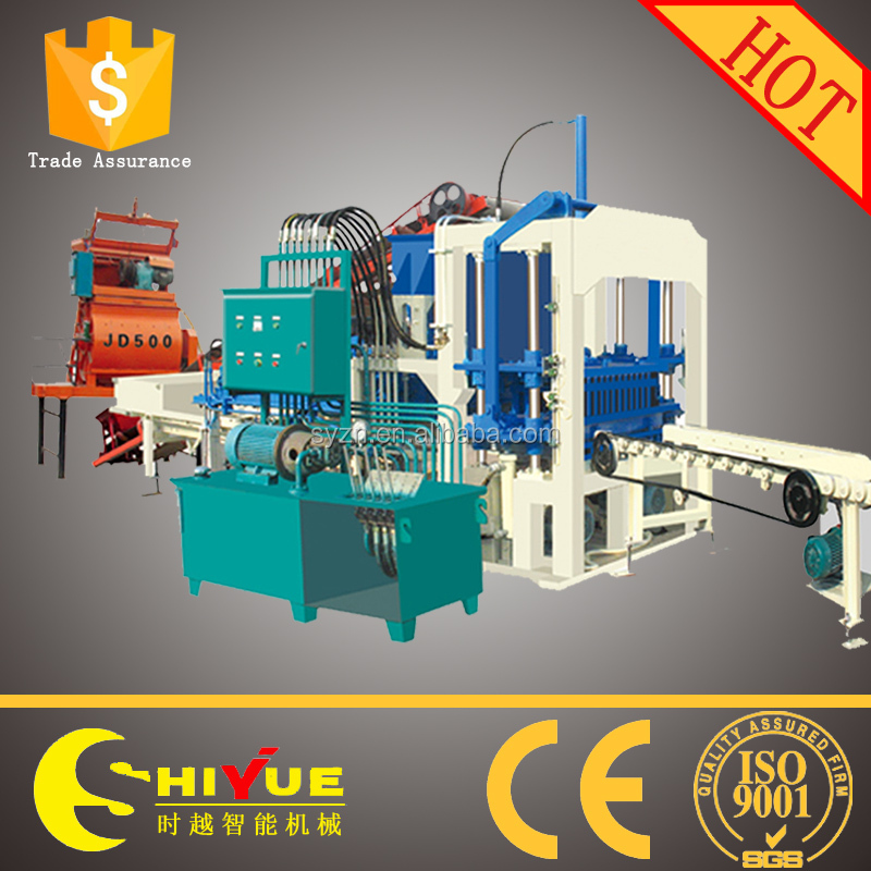 chinese construction equipment manufacturers QT4-20 bricks hydraulic press machine price