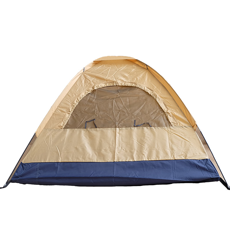 Custom Yellow Outdoor Changing Tent Go Fishing