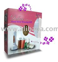 hand held waxing kit