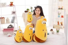 Children plush toys yellow insects big eyes stuffed insect doll large insects doll