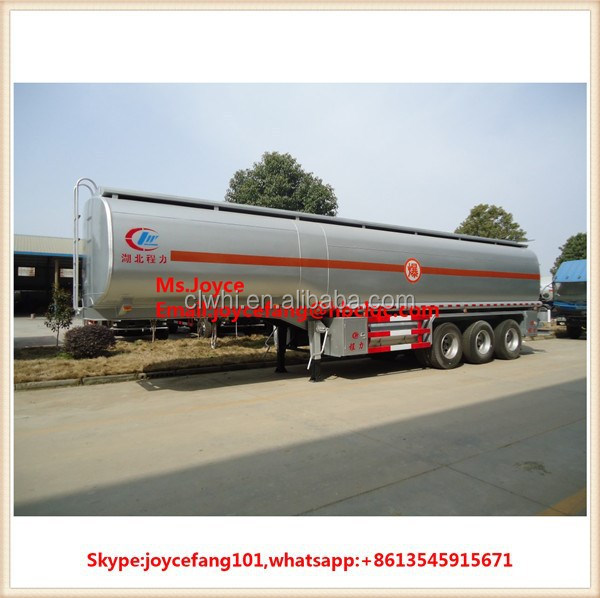 25000 Liters Fuel Tank Trailer Oil Tank Transport Trailer Used Oil Tank Semi Trailer