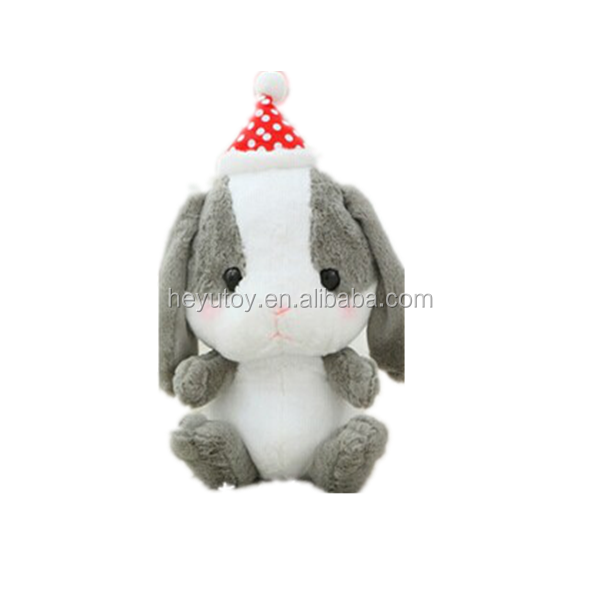 China factory stuffed plush rabbit toy and doll for christmas gift