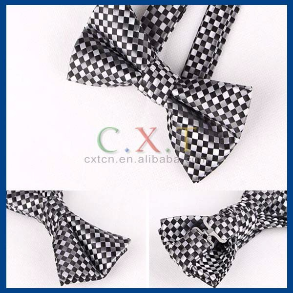 Fashion Male Bow Ties For Men Married Decoration Butterfly Block Color Dress Suit Gravatas