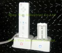 Power Dock And Rechargeable Battery For Wii Remote