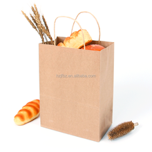 hotsale custom made shopping grocery paper bag with your own logo