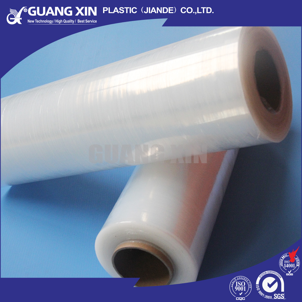 Strong tear resistance PE cling film